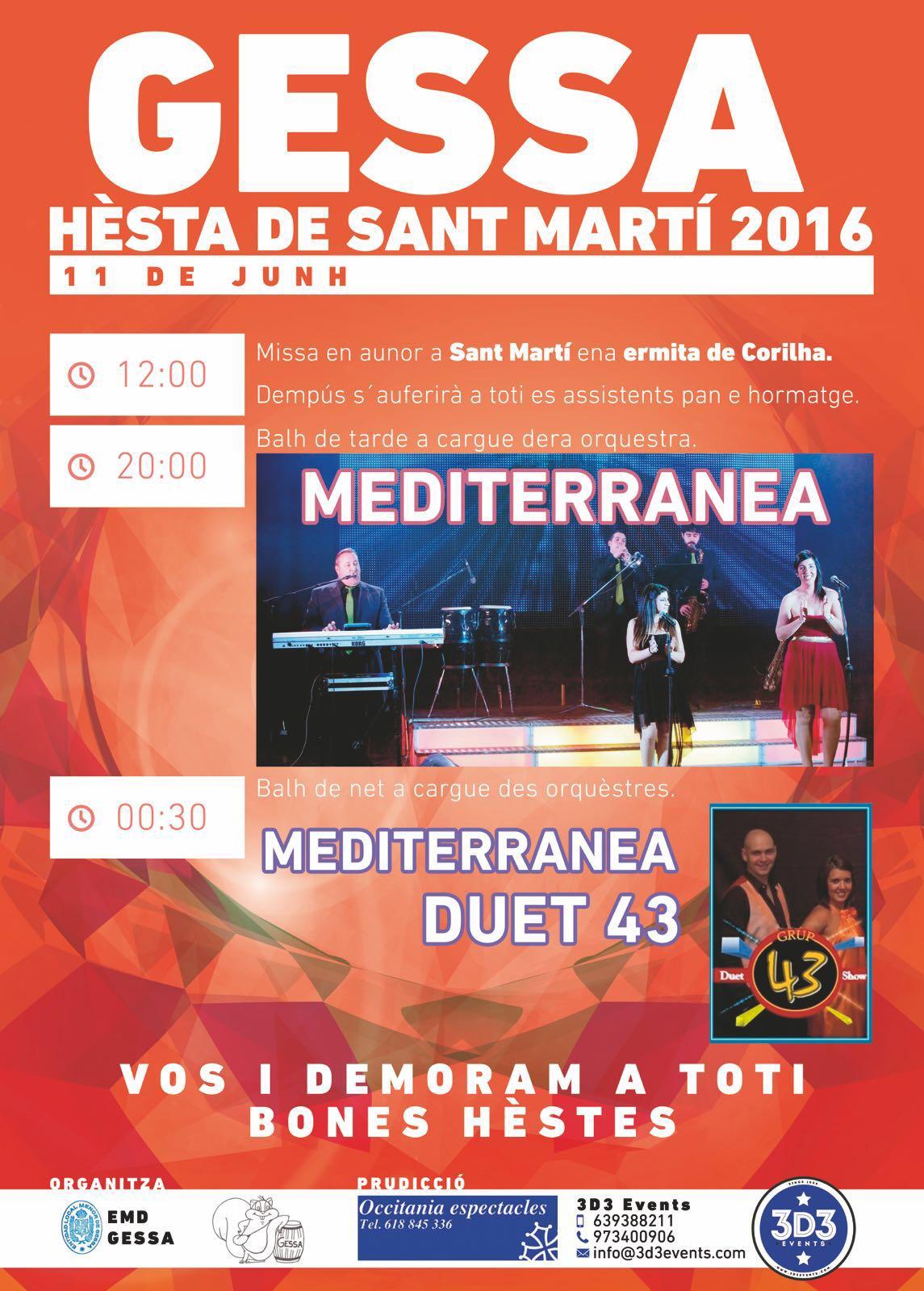 Fiesta Sant Martí Gessa